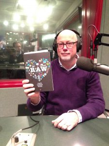 The author in our studios