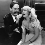 "William Haines and Marion Davies in ""Show People,"" 1928."