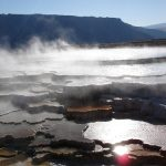 Photo of the geothermal features of Yellowstone. Via Flickr by Kevin Saff/ CreativeCommons