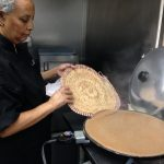 Azla makes a gluten-free injera, the staple bread which doubles as a utensil in Ethiopian cuisine