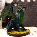 The Green Dragon, painted by a Dungeons and Dragons fan
