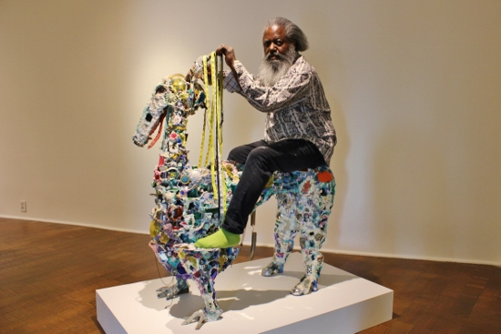 Found Objects Made Into Art Timothy Washington S Long