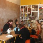 Participants in the Art+Feminism Wikipedia Edit-a-thon in Los Angeles. Photo by Avishay Artsy.