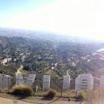 View from behind the Hollywood sign, reached by Hollyridge Trail. Photo via OrangesandAvocados.com.