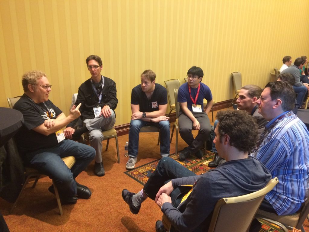 Michael Terpin leading a bitcoin meetup at the SXSW Interactive Conference.