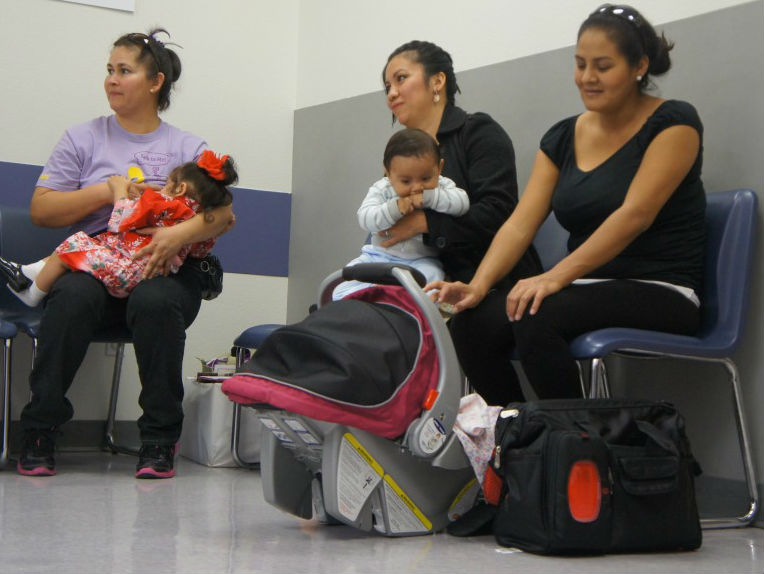 The rate of growth in California's Latino population is starting to slow. Population experts say that's become a decrease in immigration, both legal and illegal, from Mexico and Central America and Latino families in this country choosing to have fewer children. (Photo by Saul Gonzalez)