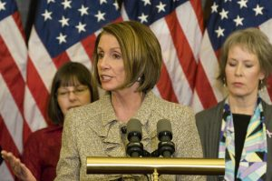 On Thursday, Rep. Nancy Pelosi said immigration reform isn't moving forward because of racism. (Photo: Nancy Pelosi Flickr)