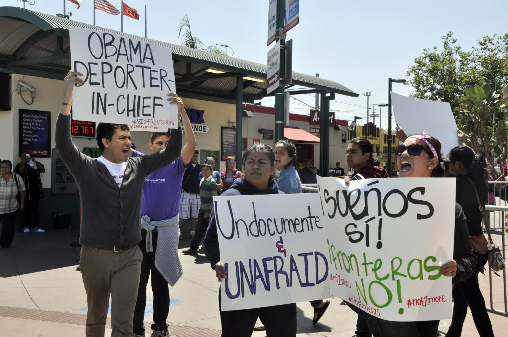 Immigration activists say President Obama doesn't understand their fight. (Photo: Eric Pearse-Chavez, Sonic Trace)