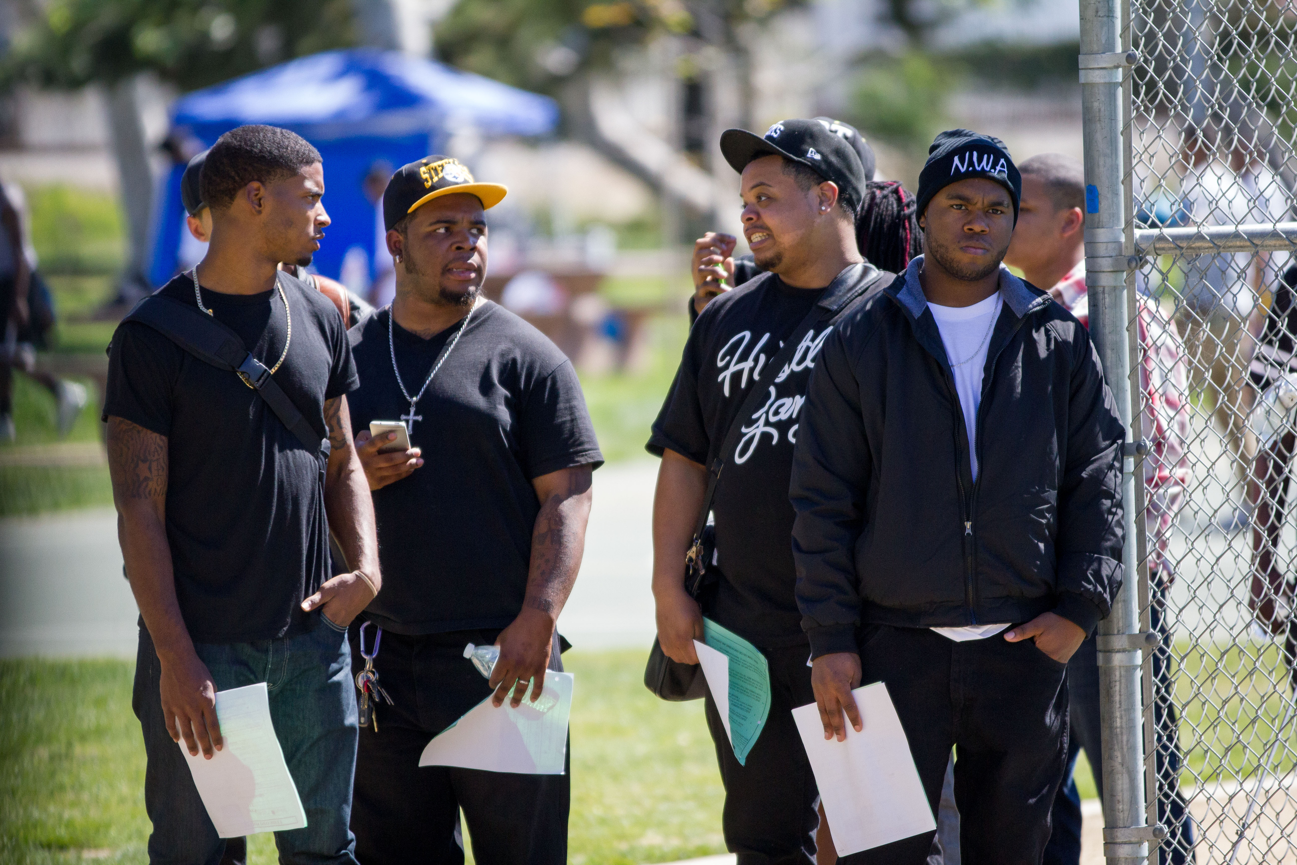 PHOTOS: Inside the 'Straight Outta Compton' movie casting ...
