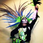Devi Ramirez, 26, has been involved with Aztec dancing since she was 16 years old. (Photo: Devi Ramirez)
