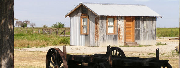 Colonel Allensworth State Historic Park. (Photo: CA Parks)