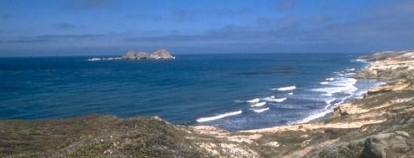 San Miguel's surrounding offshore rocks include Castle Rock. (Photo: NPS)