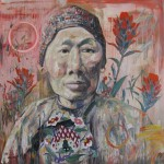 China Mary, Wyoming 2 by Hung Liu (courtesy the artist and Walter Maciel Gallery)