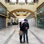 Uli Nasibova and Ryan Vaillancourt run Gelateria Uli in the Spring Arcade Building, Downtown Los Angeles.