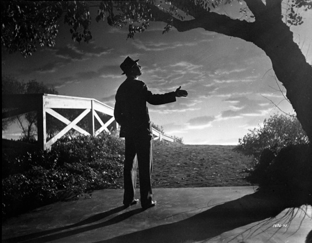 Film still from Harvey (1950), © Universal International. Shown: James Stewart.