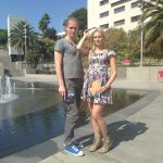 "Musician Silver Sepp and writer Kristiina Ehin--Estonia's ""it"" couple visit LA, and Grand Park"