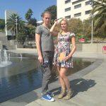 "Musician Silver Sepp and writer Kristiina Ehin--Estonia's ""it"" couple visit LA, and Grand Park"