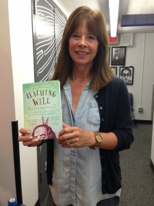 Mel Ryane and her new book at KCRW