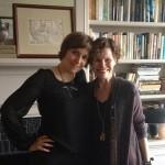 Lena Dunham and Judy Blume in New York.