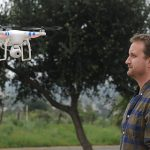 Tyler Hayden with the Santa Barbara Independent comes face to face with a drone.