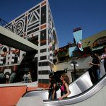 Horton Plaza in San Diego, designed by The Jerde Partnership. Photo by Sandy Huffaker, Jr.