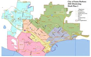 The City's consultant, National Demographics Corporation (NDC), has drawn 3 maps that divide the City into 6 geographical zones.  Please review each map and complete the attached input form.