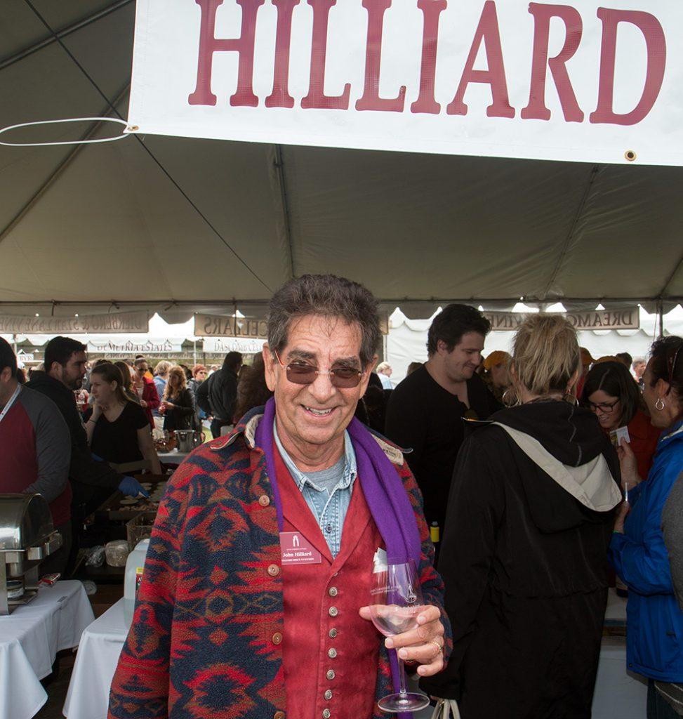 Winemaker John Hilliard of Hilliard Bruce Vineyard (Photo: Ken Pfeiffer)