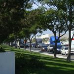 A constant flow of big rigs streams down Etiwanda Ave. in Jurupa Valley on the way from logistics facilities to any number of major freeways in the area.