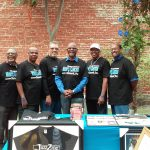 Freddie Muse, center, and other members of The Men's Cancer Network