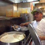 Raymond Khaneshan, owner of Shaherzad Restaurant on Westwood Boulevard. Photo by Shara Morris.
