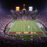 Happier times in the Los Angeles Coliseum in 2006 when the Trojans went 11-2, winning the Pac-10. Photo: Bobak Ha'Eri/Creative Commons