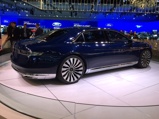 Lincoln's new Continental