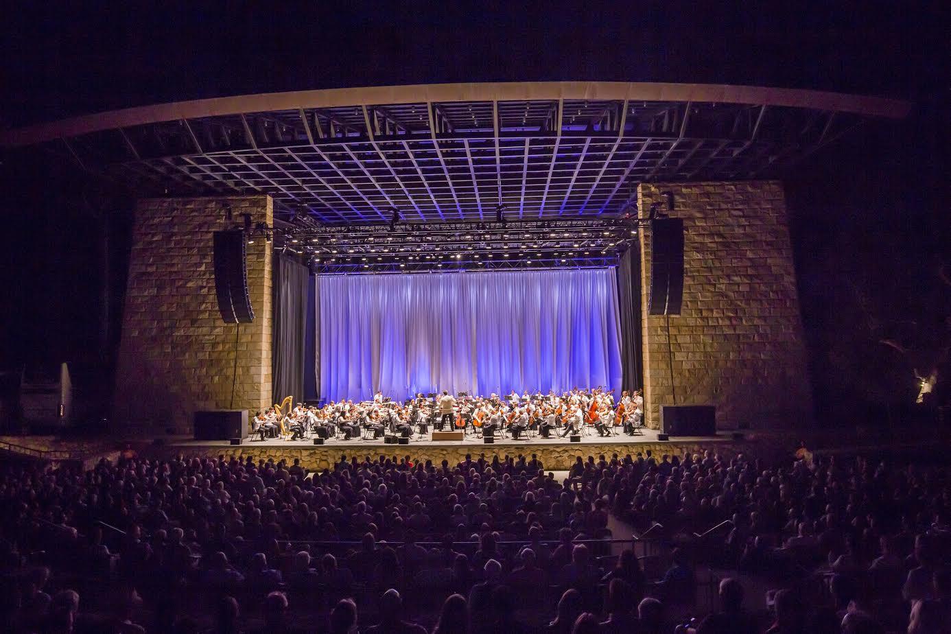 New York Philharmonic 2015 Santa Barbara Residency, 8/3/15. Photo by Chris Lee
