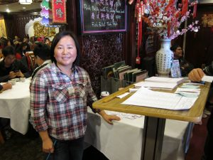 Jeanne Lam owns Golden Dragon restaurant on Broadway in Chinatown.
