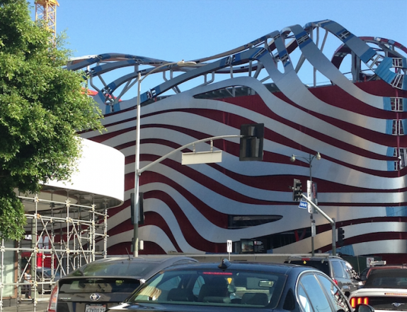 """""""Façadomy,"""" The Broad and the Petersen Automotive Museum"""