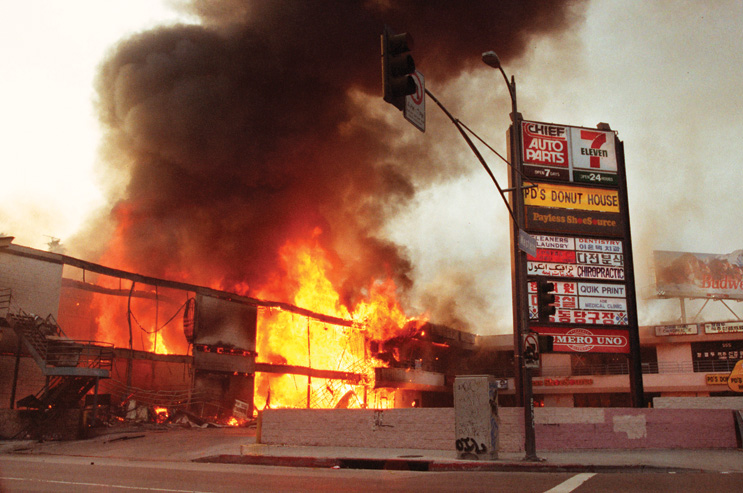 How the Rodney King Riots changed LA architecture