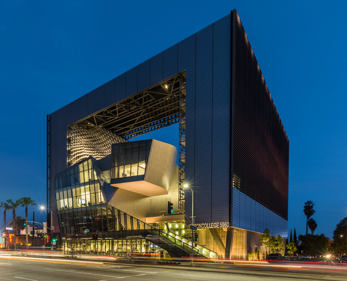 Emerson College Designed By Morphosis Architects 5960 Sunset Blvd Los Angeles