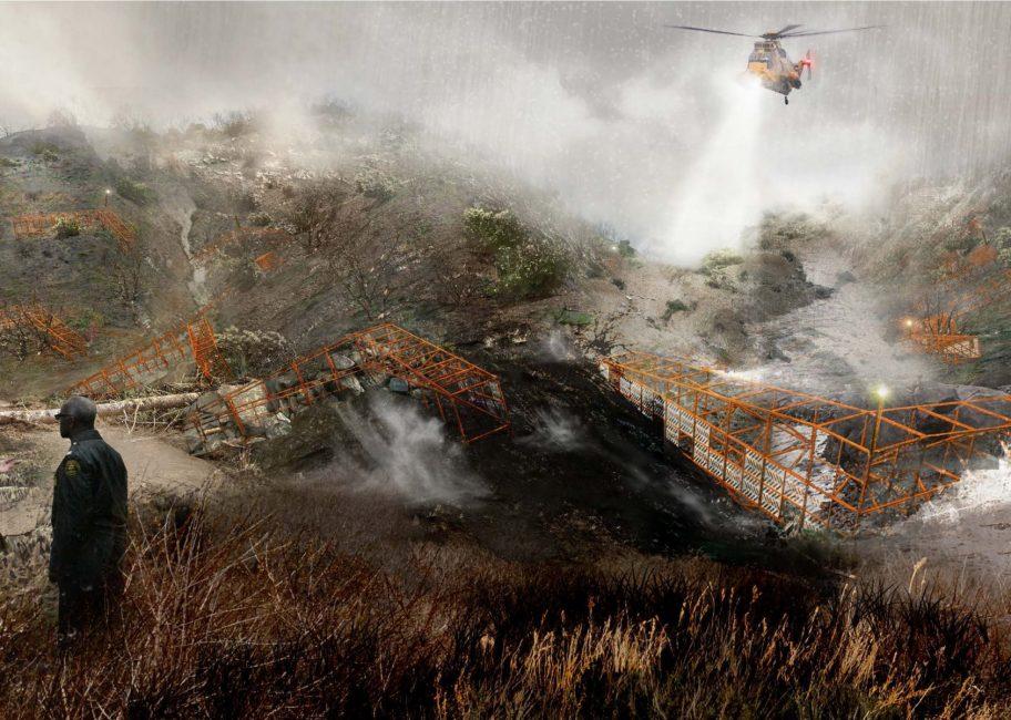 Mudslides test LA's debris basins – RCHS proposes a new solution