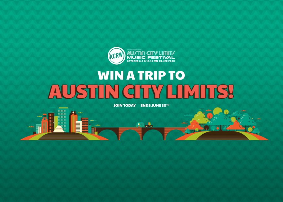 Win a trip to the Austin City Limits Music Festival!