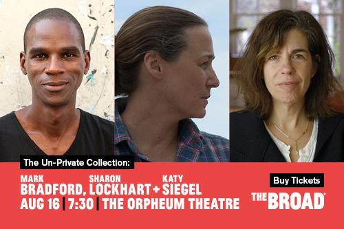 The Un-Private Collection: Mark Bradford, Sharon Lockhart + Katy Siegel