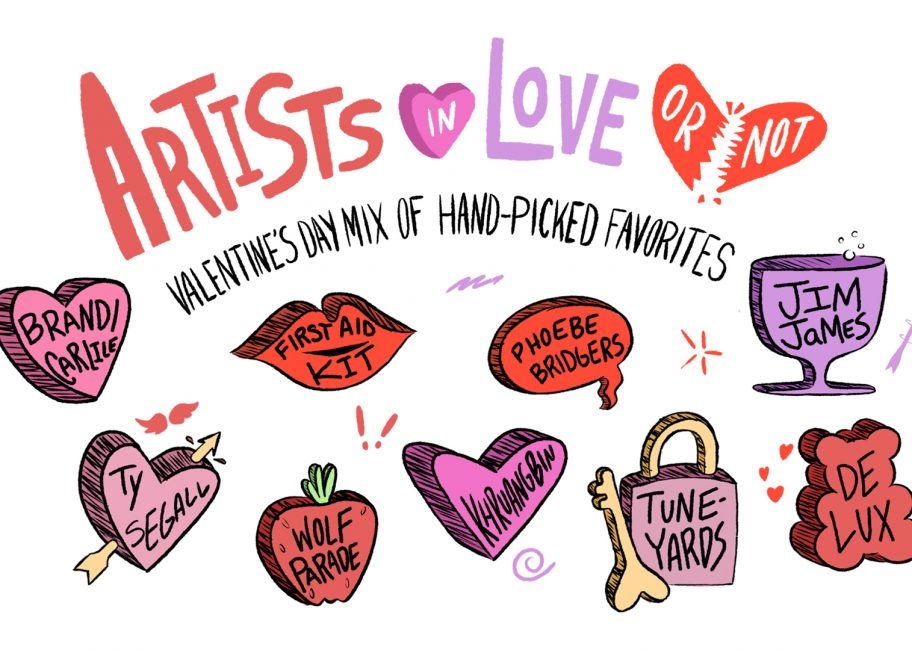 Artists in love (or not): MBE Valentine's Day Special