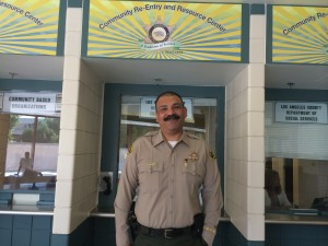 Lt. Xavier Aguilar heads the Community Transition Unit